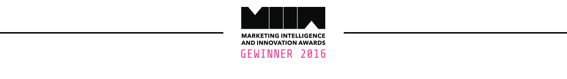 Marketing Intelligence and Innovation Awards Gewinner 2016 Rexago Information GmbH